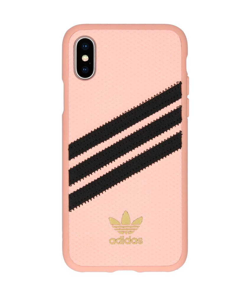adidas Originals Samba Backcover iPhone Xs / X - Roze