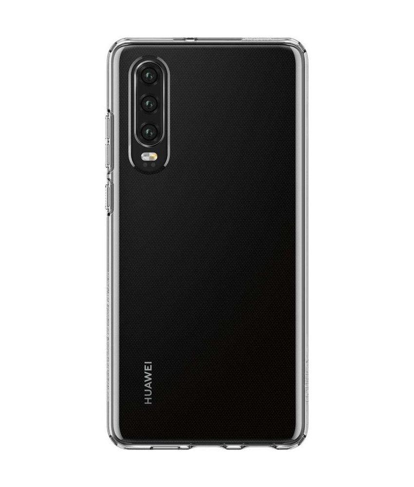 Spigen Liquid Crystal Backcover Huawei P30 - Transparant