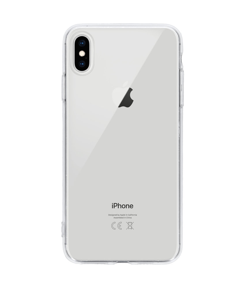 Ultra Thin Transparant Backcover iPhone Xs Max