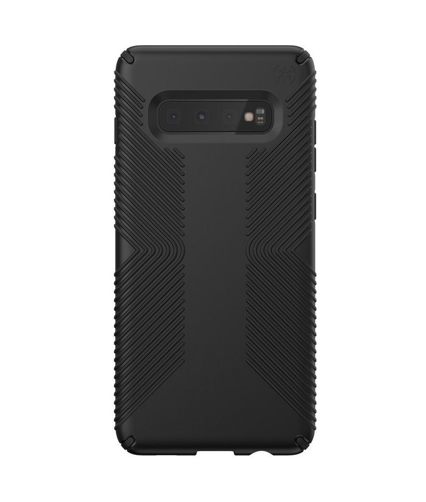 Speck Presidio Grip Backcover Samsung Galaxy S10 Plus - Zwart