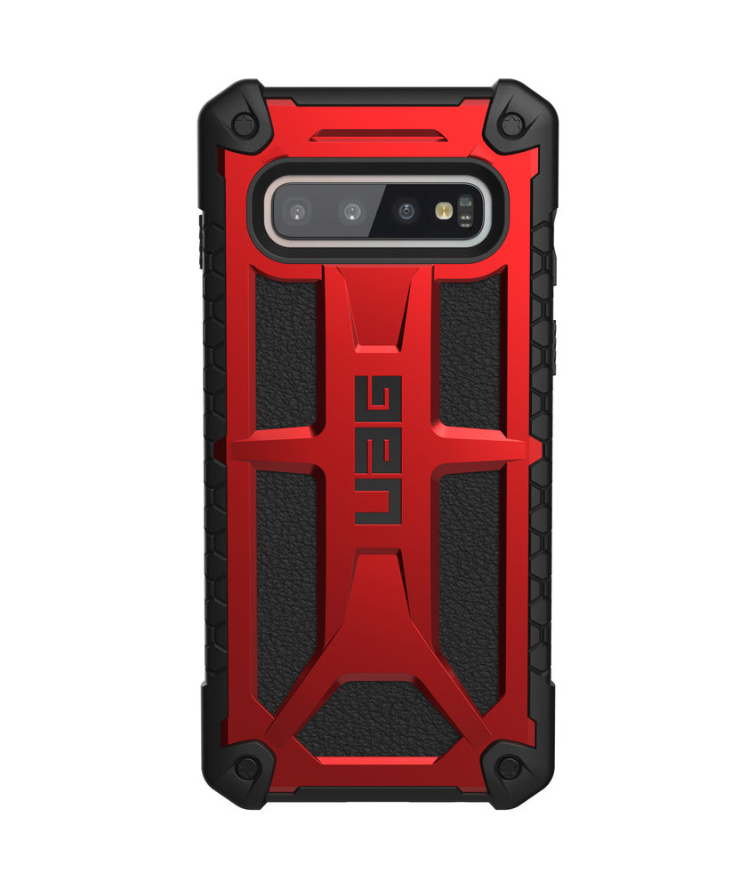 UAG Monarch Backcover Samsung Galaxy S10 - Rood