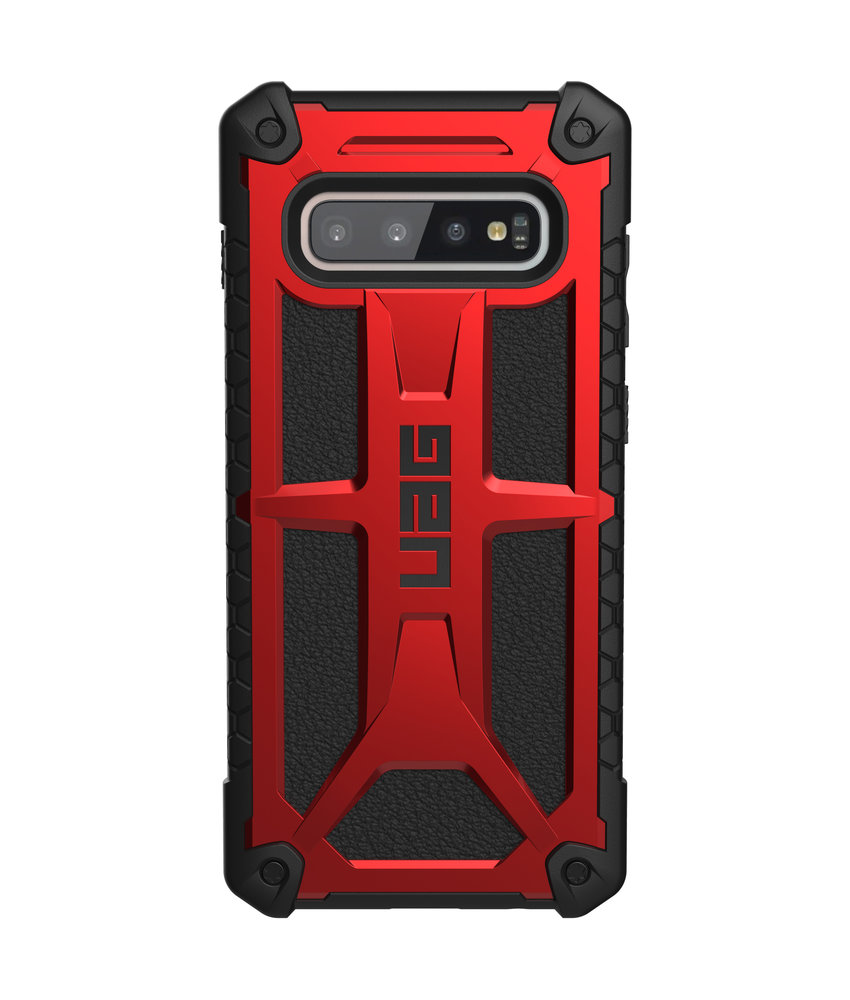 UAG Monarch Backcover Samsung Galaxy S10 Plus - Rood