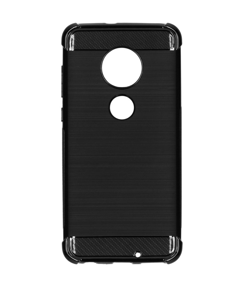 Xtreme Softcase Backcover Motorola Moto G7 / G7 Plus - Zwart