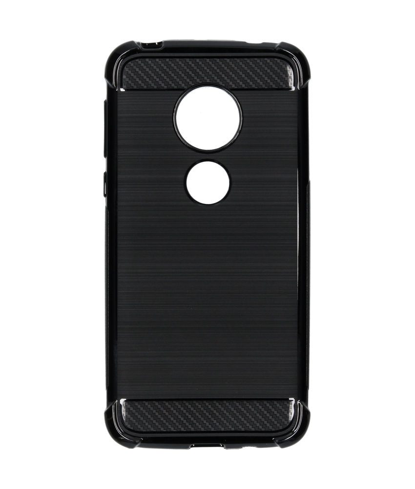 Xtreme Softcase Backcover Motorola Moto G7 Play - Zwart
