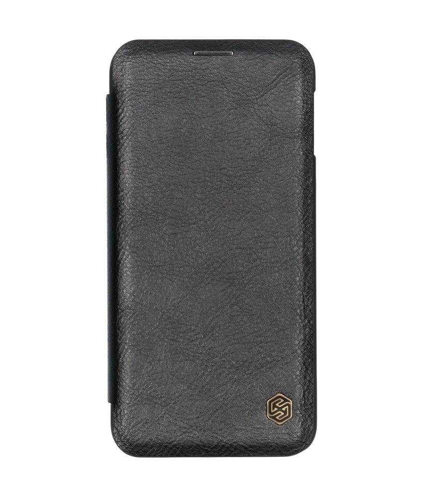 Nillkin Qin Leather Slim Booktype Samsung Galaxy S10e - Zwart