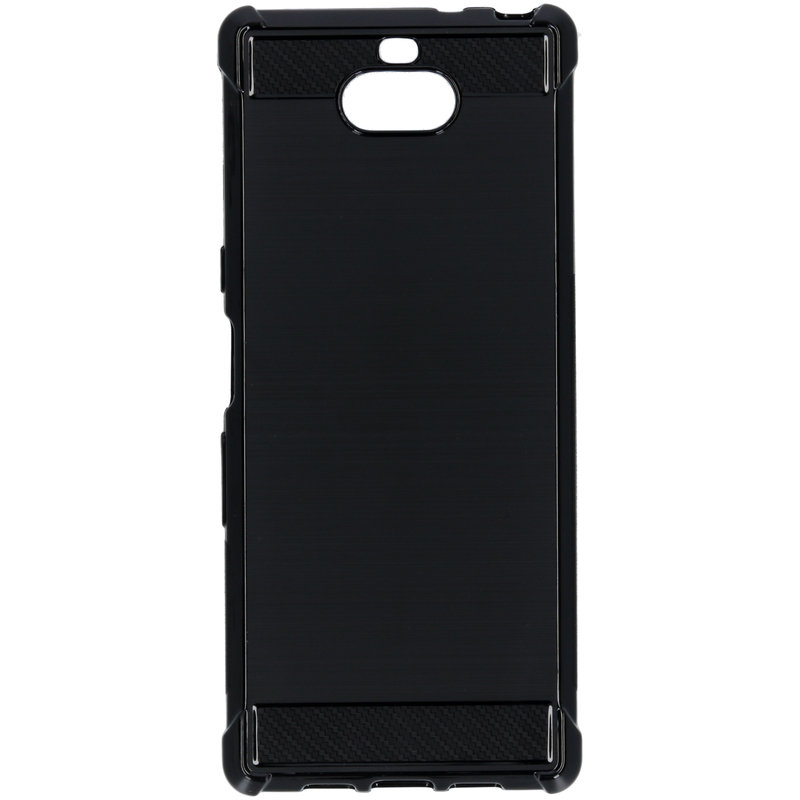 Xtreme Softcase Backcover Sony Xperia 10 - Zwart