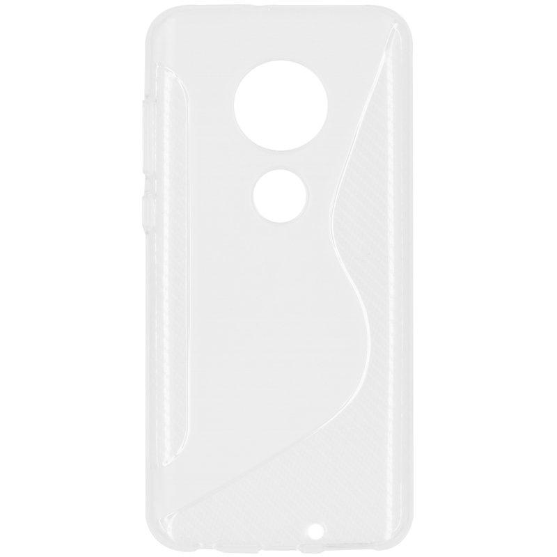 S-line Backcover Motorola Moto G7 / G7 Plus - Transparant