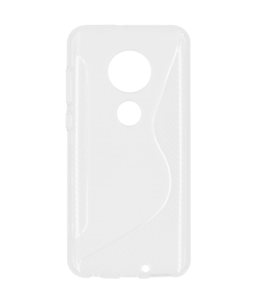 S-line Backcover Motorola Moto G7 / G7 Plus - Transparant