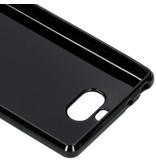 S-line Backcover voor de Sony Xperia 10 - Zwart