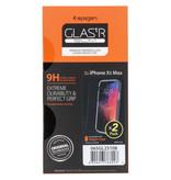 Spigen GLAStR Screenprotector Duo Pack voor de iPhone Xs Max