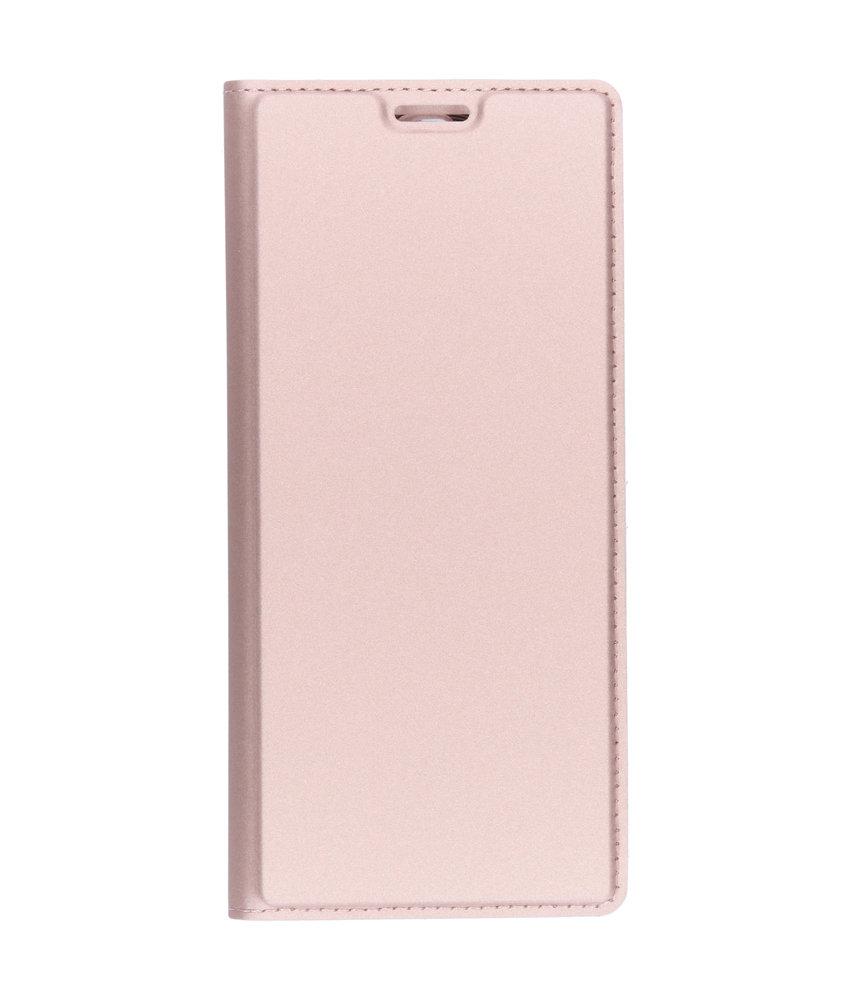 Dux Ducis Slim Softcase Booktype Sony Xperia 10 Plus - Rosé Goud