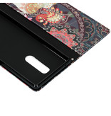 Design Softcase Booktype voor de Sony Xperia 1 - Olifant
