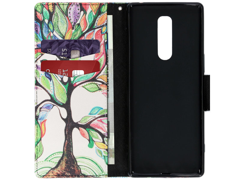 Sony Xperia 1 hoesje - Design Softcase Booktype voor