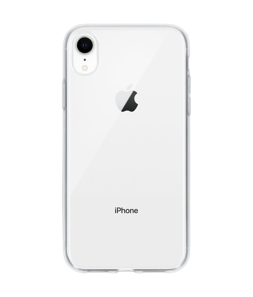 Ultra Thin Transparant Backcover iPhone Xr