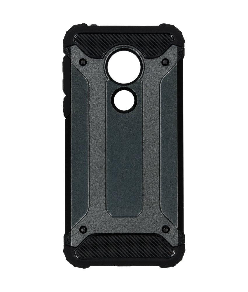 Rugged Xtreme Backcover Motorola Moto G7 Power - Zwart