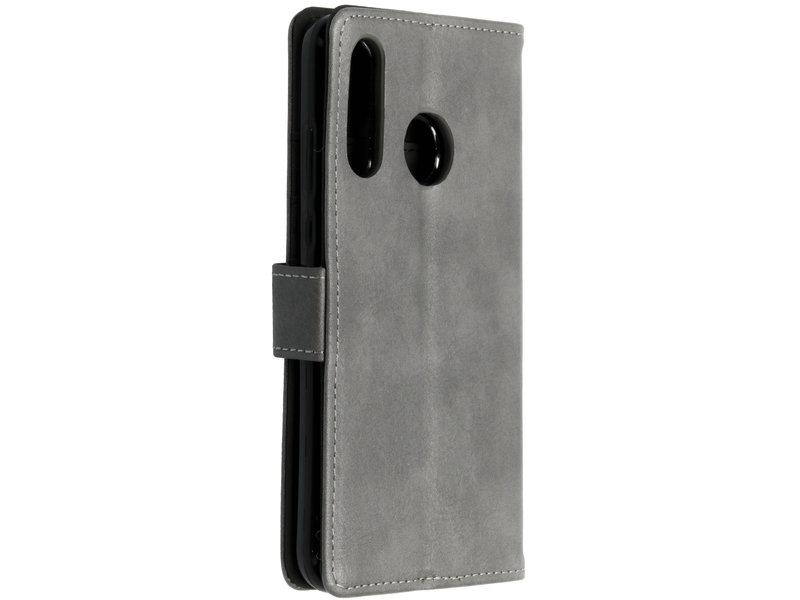 Huawei P30 Lite hoesje - Luxe Lederen Booktype voor