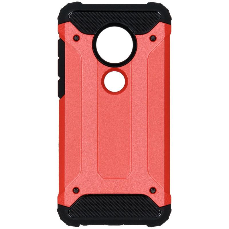 Rugged Xtreme Backcover Motorola Moto G7 / G7 Plus - Rood