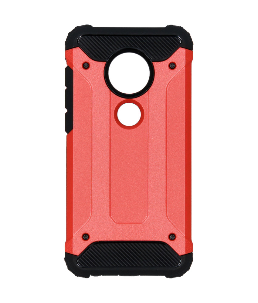 Rugged Xtreme Backcover Motorola Moto G7 / G7 Plus - Rood