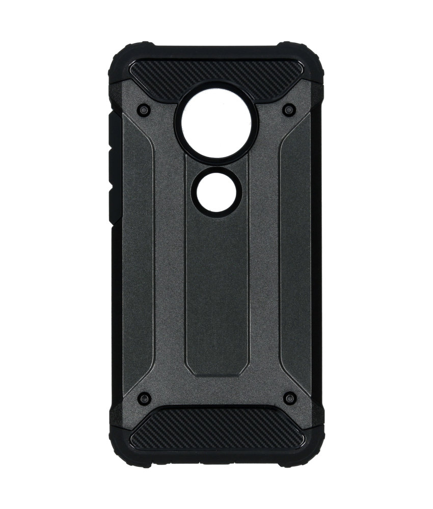 Rugged Xtreme Backcover Motorola Moto G7 / G7 Plus - Zwart