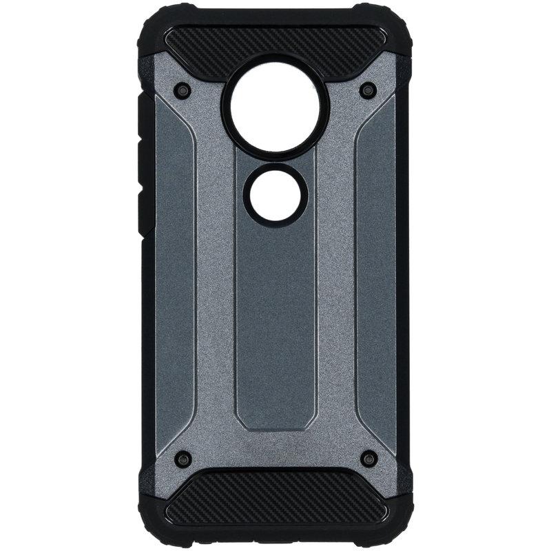 Rugged Xtreme Backcover Motorola Moto G7 / G7 Plus - Blauw
