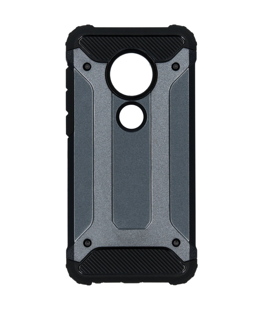 Rugged Xtreme Backcover Motorola Moto G7 / G7 Plus - Blauw