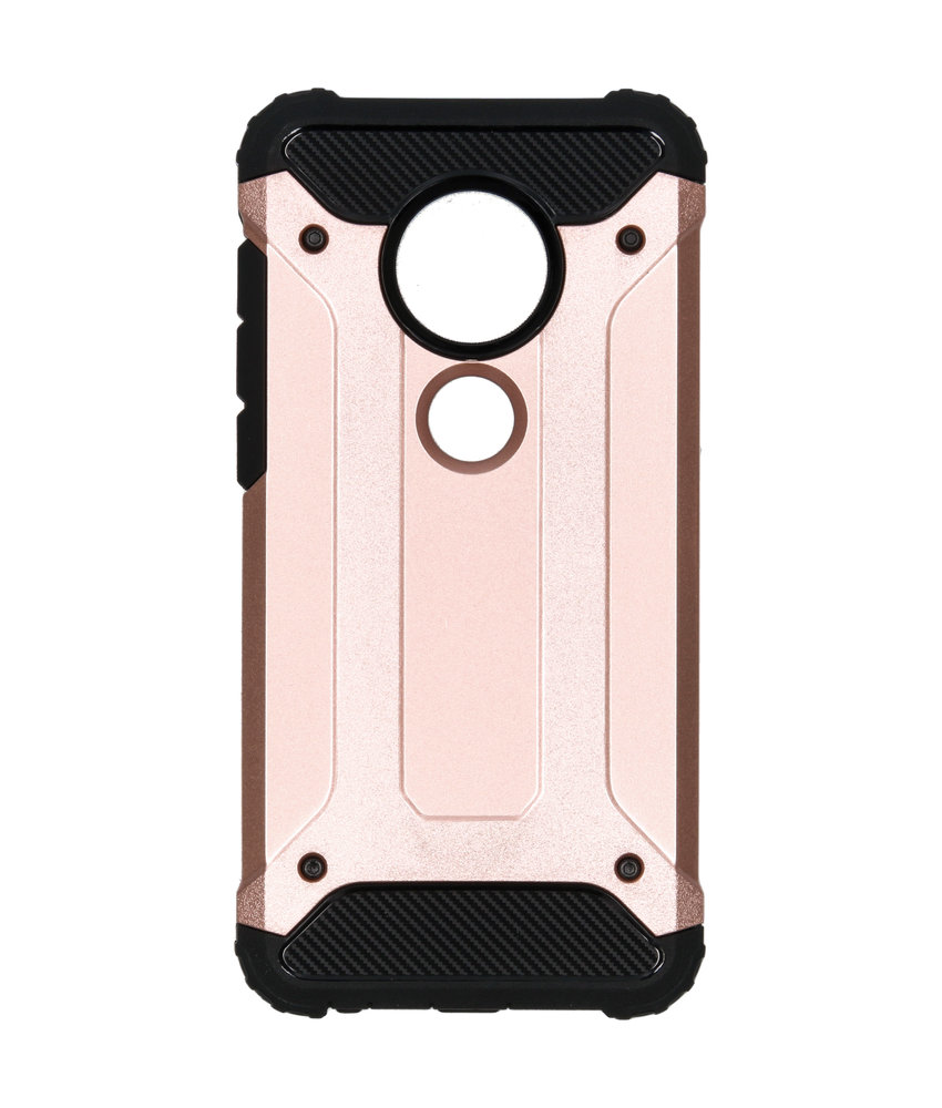 Rugged Xtreme Backcover Moto G7 / G7 Plus - Rosé Goud