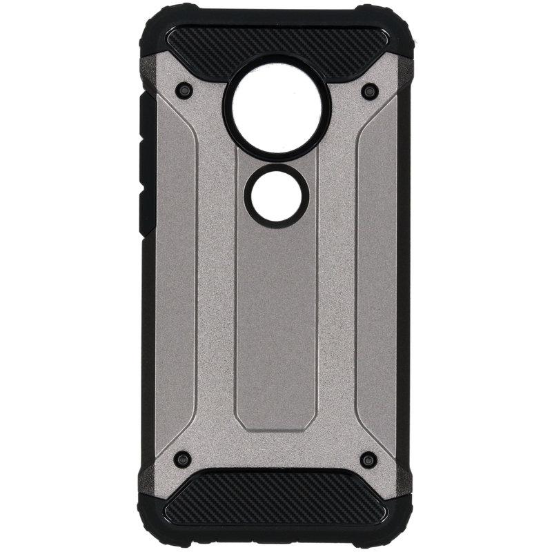 Rugged Xtreme Backcover Motorola Moto G7 / G7 Plus - Grijs