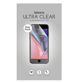 Selencia Duo Pack Ultra Clear Screenprotector voor de Motorola Moto G7 / G7 Plus