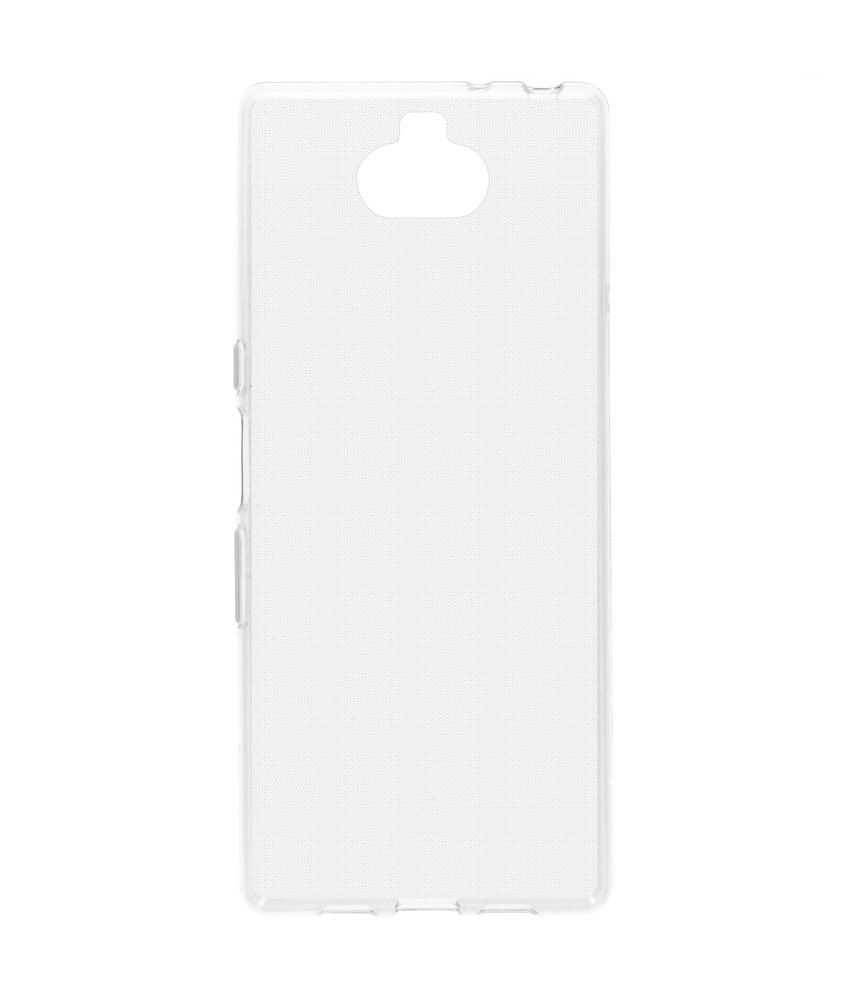Softcase Backcover Sony Xperia 10 Plus - Transparant