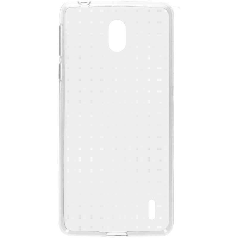 Softcase Backcover Nokia 1 Plus - Transparant