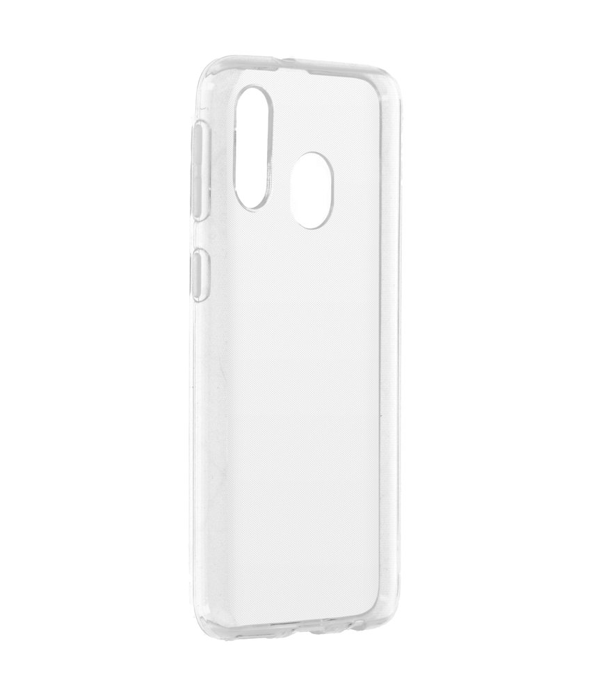 Softcase Backcover Samsung Galaxy A40 - Transparant
