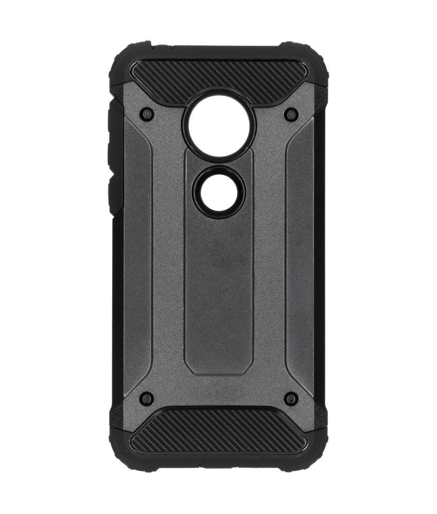 Rugged Xtreme Backcover Motorola Moto G7 Play - Zwart