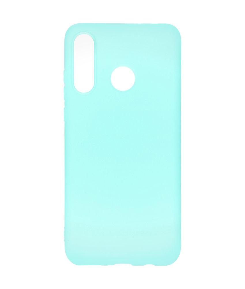 Color Backcover Huawei P30 Lite - Mintgroen