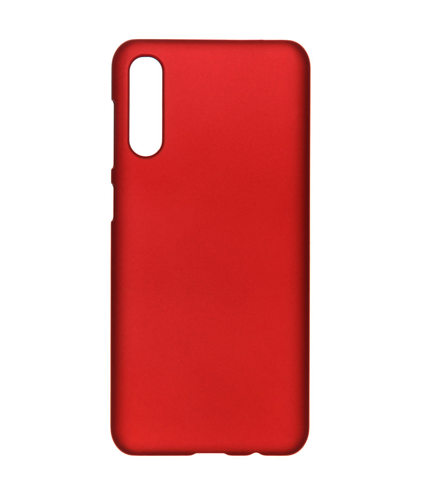Effen Backcover Samsung Galaxy A50 - Rood