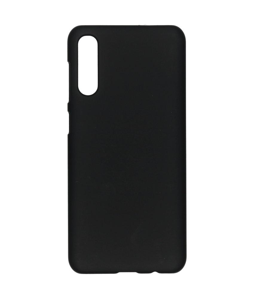 Effen Backcover Samsung Galaxy A50 / A30s - Zwart