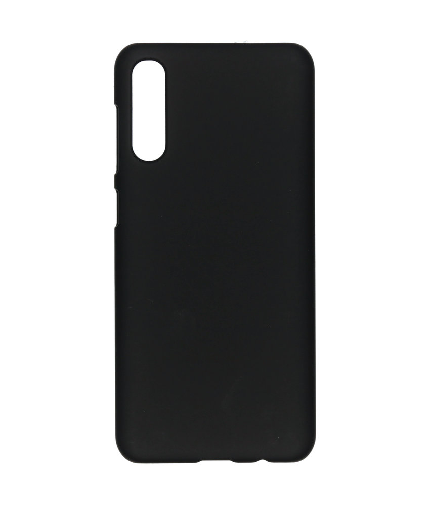 Effen Backcover Samsung Galaxy A50 - Zwart