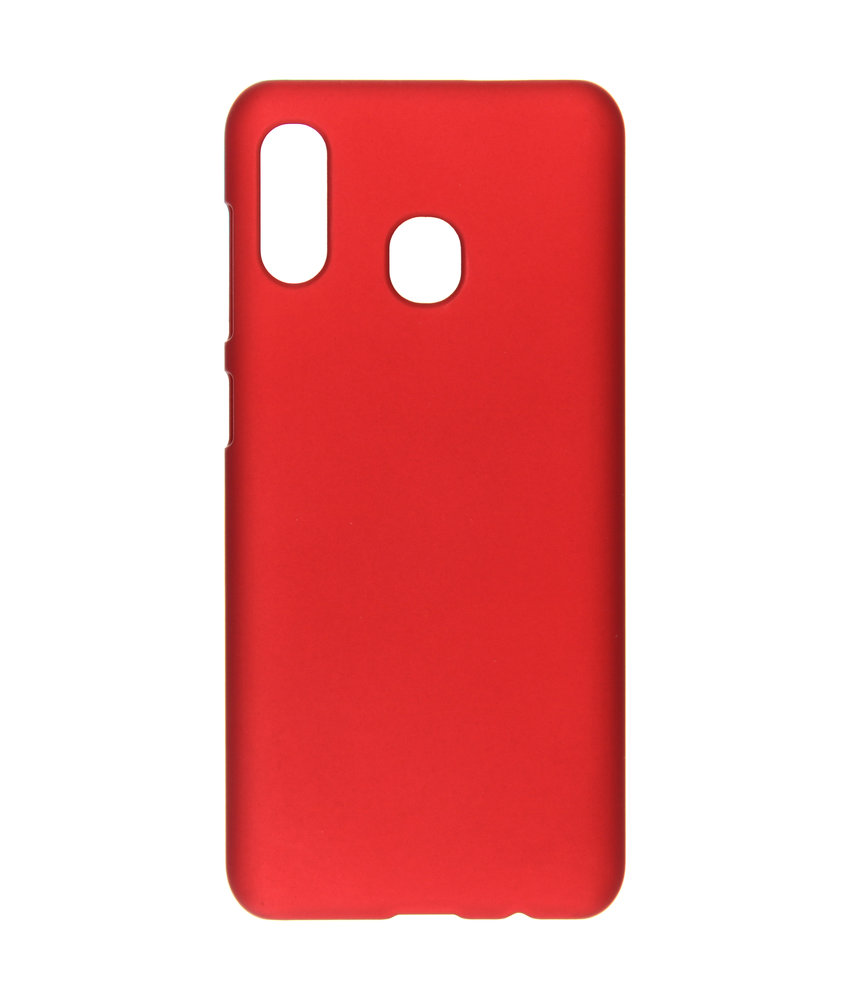 Effen Backcover Huawei Y7 (2019) - Rood