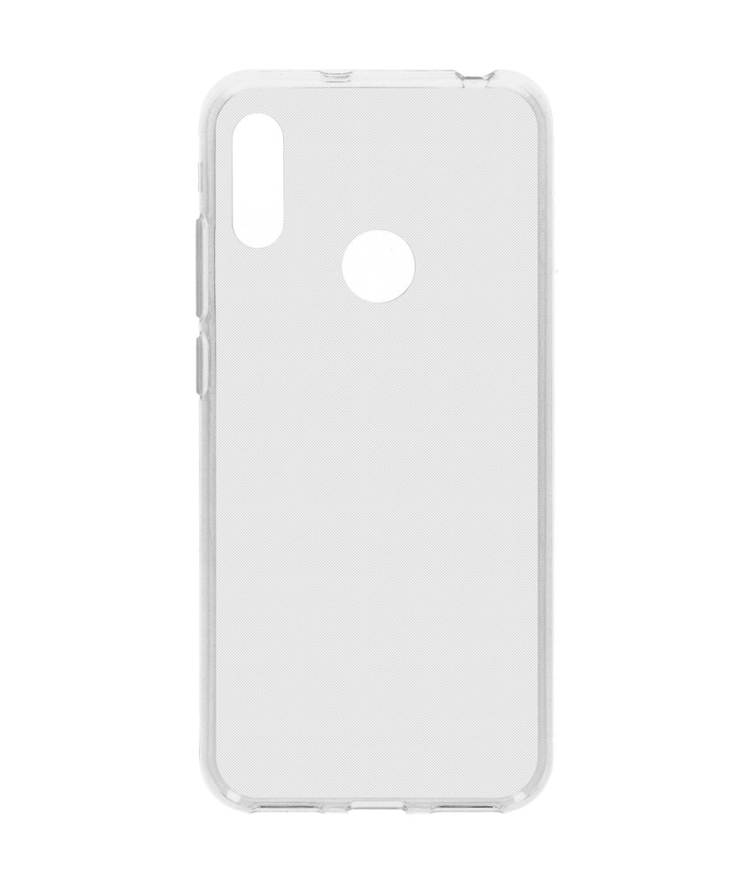 Softcase Backcover Huawei Y6 (2019) - Transparant