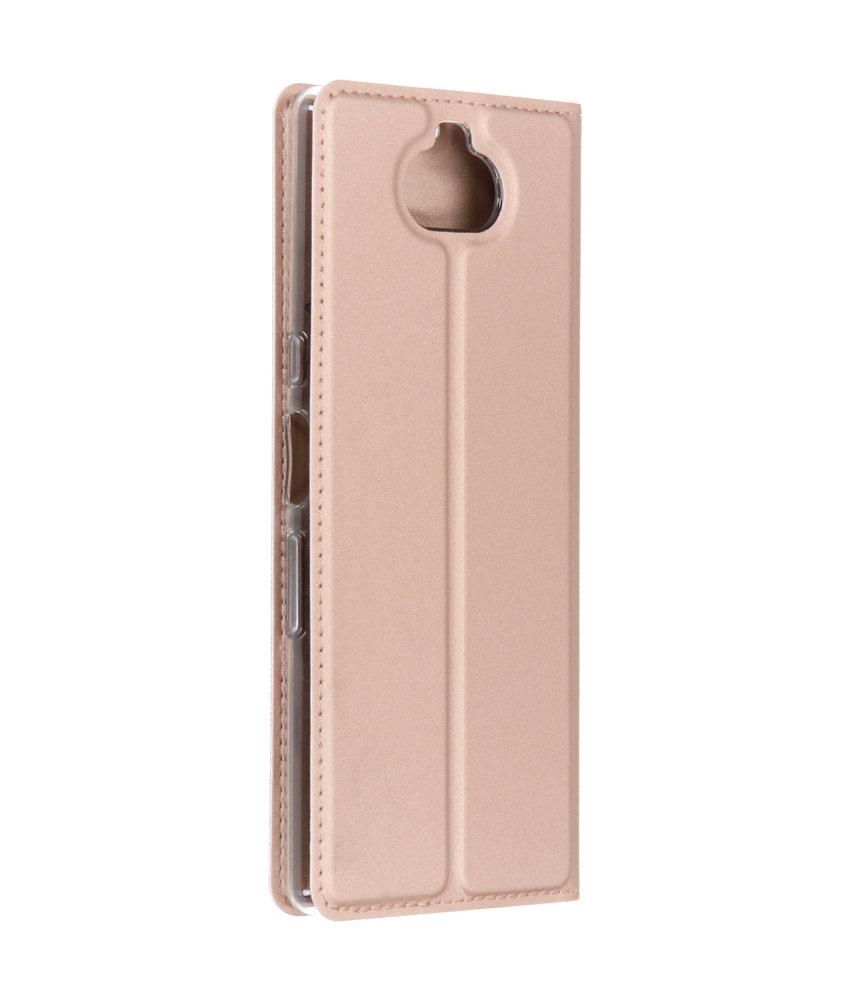 Dux Ducis Slim Softcase Booktype Sony Xperia 10 - Rosé Goud