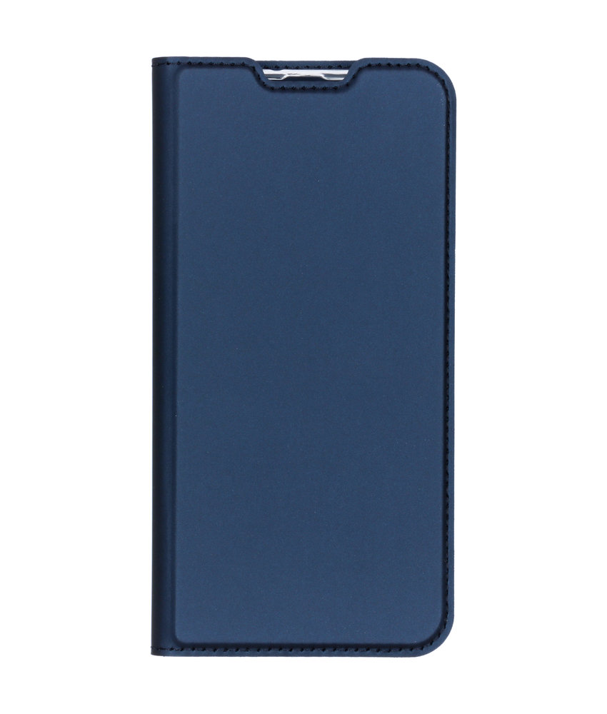 Dux Ducis Slim Softcase Booktype Samsung Galaxy A50 - Donkerblauw