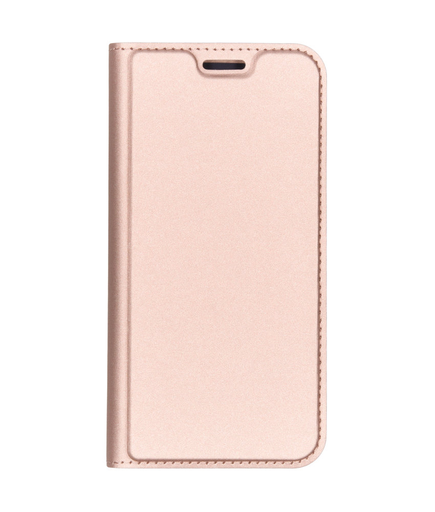 Dux Ducis Slim Softcase Booktype Motorola Moto G7 Play - Rosé Goud