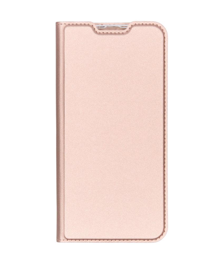Dux Ducis Slim Softcase Booktype Samsung Galaxy A50 - Rosé Goud