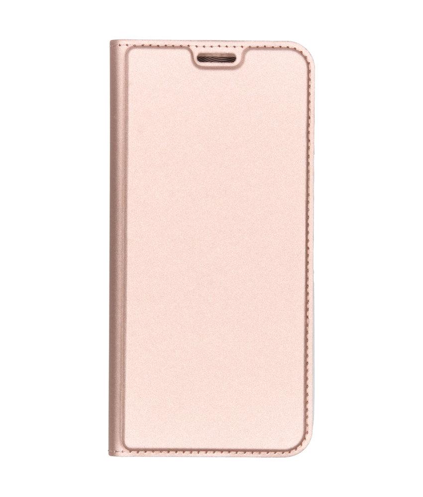 Dux Ducis Slim Softcase Booktype Motorola Moto G7 Power - Rosé Goud