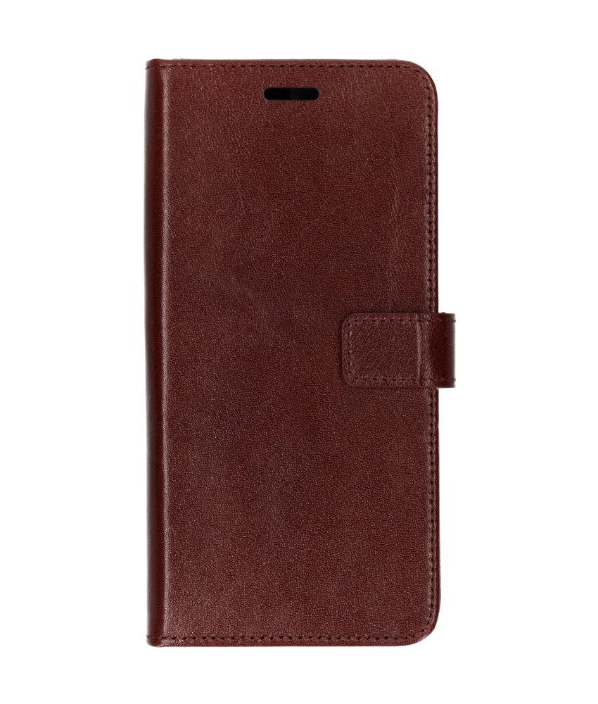 Valenta Leather Booktype Samsung Galaxy A9 (2018) - Bruin