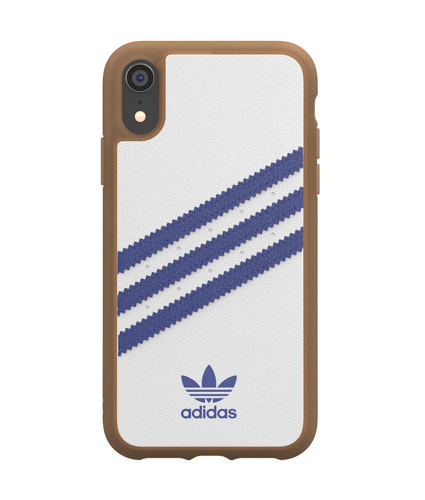 adidas Originals Samba Backcover iPhone Xr - Wit / Blauw
