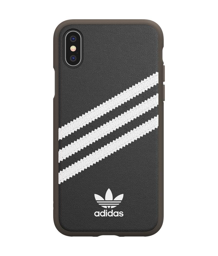 adidas Originals Samba Backcover iPhone Xs / X - Zwart / Wit