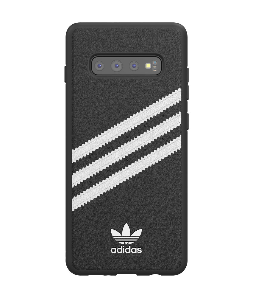 adidas Originals Samba Backcover Samsung Galaxy S10 Plus - Zwart / Wit