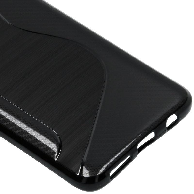 S-line Backcover Samsung Galaxy A50 - Zwart
