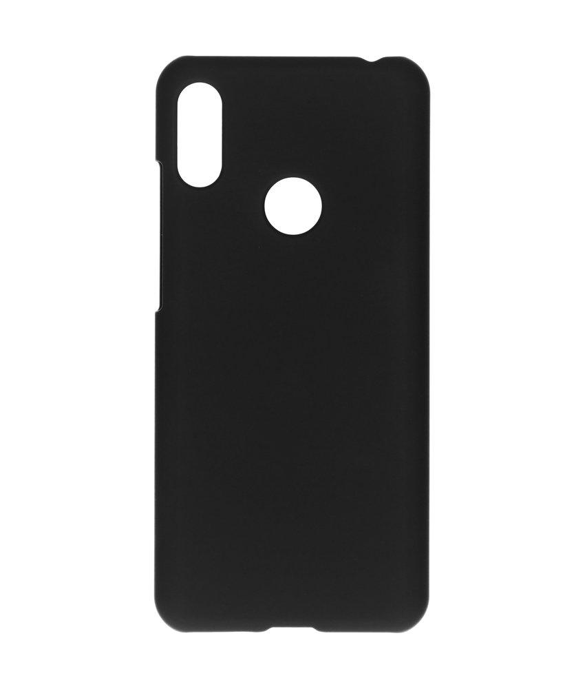 Effen Backcover Huawei Y6 (2019) - Zwart