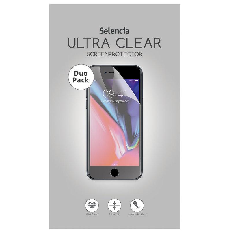 Selencia Duo Pack Ultra Clear Screenprotector Motorola Moto G6 Play